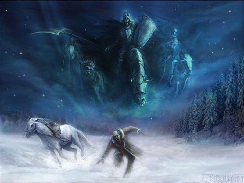 El fenómeno de los cazadores fantasmales