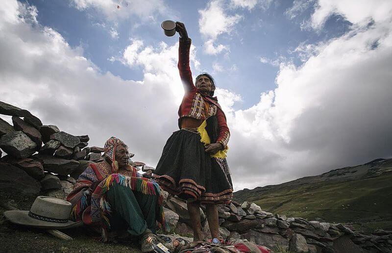Objetos fantasmales quechuas que anuncian la muerte